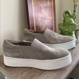 🆕Vince Suede Platform Slip On Sneakers